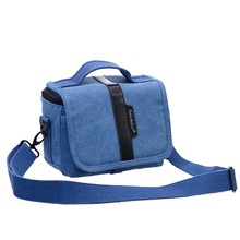 2015 Small micro Dslr DIgital Canvas Camera Bag