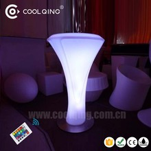 Amazing 16 RGB Color remote adjustable wirless waterproof outdoor event pub club furniture led light up table bar