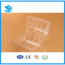 Small volume plastic muffins clamshell blister packaging