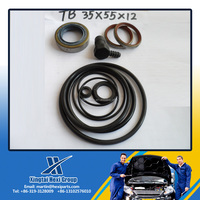 Xingtai HUAXI Half Metal Half Rubber Oil Seal for TB Structure 35*55*12 Auto Parts