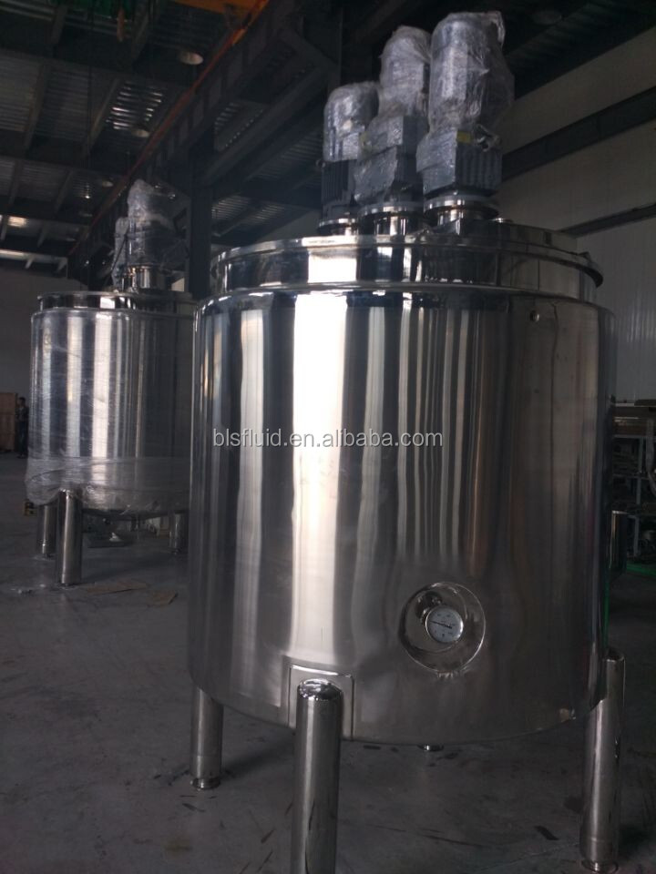 stainless steel liquid soap mixing equipment/Cosmetic creams mixing tank