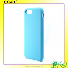 Factory Supply Hot Selling Mobile Phone Accessory for Iphone 7 plus Circular Hole Hybrid Liquid Silicone Case