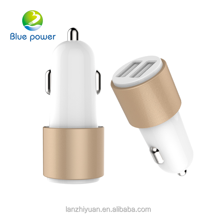 High Quality Portable Car Battery Charger Cell Phone Dual USB Car Charger
