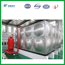 Stainless steel accessories water tank/Sectional hot dip galvanized steel water tank