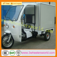 Chinese With Closed Cabin 500cc,600cc Cargo Tricycle Motorcycle for Sale