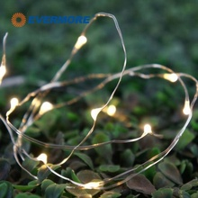 EVERMORE LED Mini Dot Copper Wire String Fairy Light for Bedroom