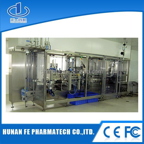 pharmaceutical amino acid IV soft bag solution making plant/non-pvc soft inufusion bag production line.