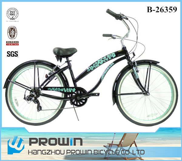 2016 ladies 7 speed beach cruiser bike/vintage bicycles for sale/bicycle cruiser for sale (PW-B26359)