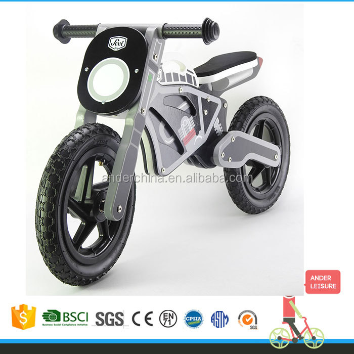 TOP quality GP motor design educational toy wooden balance bike