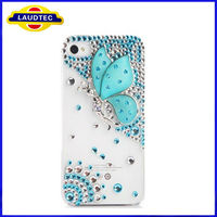 Luxury Handmade 3D Design Rhinestone Diamond Cell Phone Case Bling Cover For Apple iPhone 5