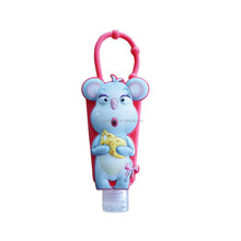 Disney FAMA certificated gifts factory custom bottle sleeves animal silicone hand sanitizer holder