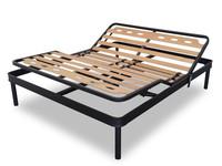 adjustable bed frame with birch bed slat