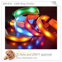 Dog ornaments Led pet collar with led dog collar