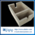 Corundum pre-fabricated pre-cast and pre-fired aluminum filtration box & filter bowl for roll-casting