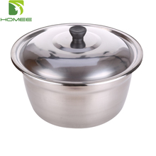 Durable stainless steel African hand wash basin with lid