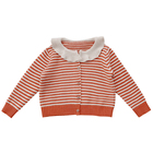 H4508/ Wholesale New Fashionable Spring Knit Cardigan Girls Sweater Design
