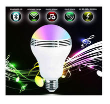 LED Bulb Bluetooth Speaker Light 6W RGB Color Changing APP Control Smart Light Bulb Dimmable LED Bulb