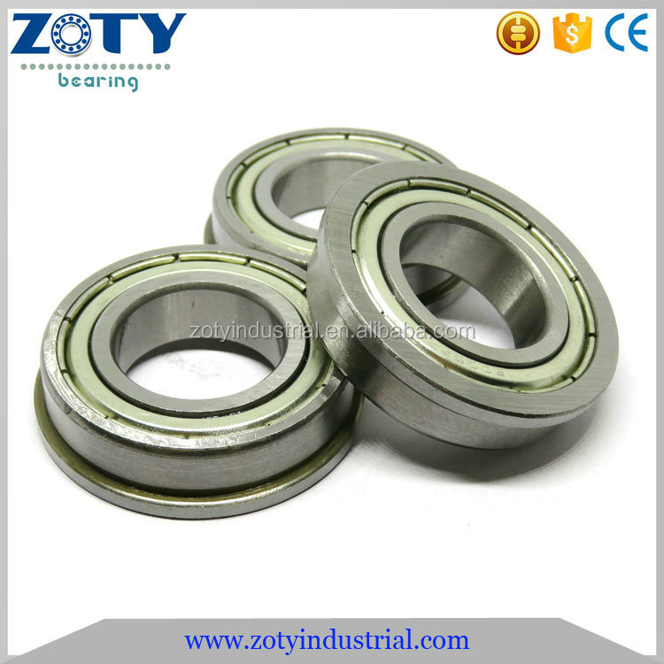 25x47x12mm Deep Groove Ball Type Flange Bearing F6005 F6005 2Z F6005ZZ
