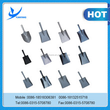 Cheap price round pointed half shovel