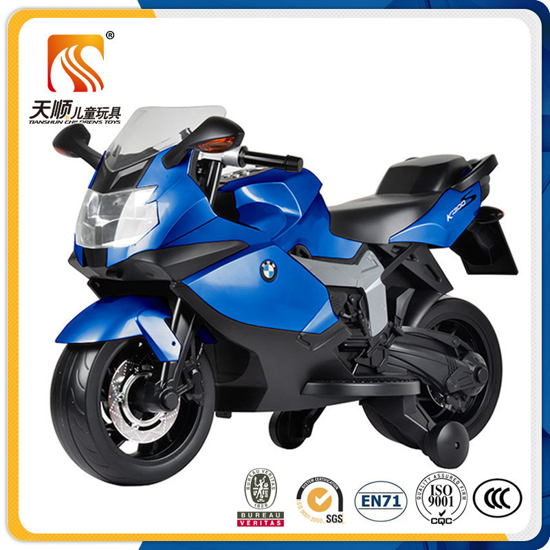 Hot selling new plastic cheap baby battery motorcycle / kids motorbike for child