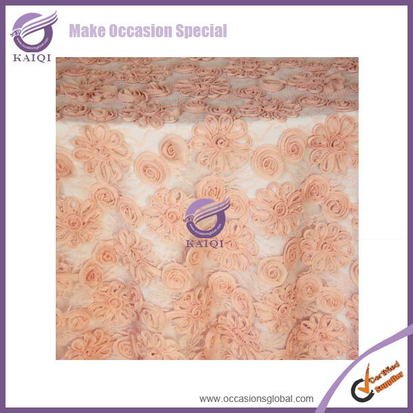 18807 Hot sales lace dining round table cover