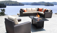 2015 New Furniture Outdoor high top sectional real wicker patio cube furniture set