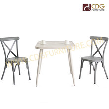 Wholesale Modern Dining Restaurant Party Cafe Table Vintage Outdoor Garden Aluminium Table <strong>Furniture</strong>