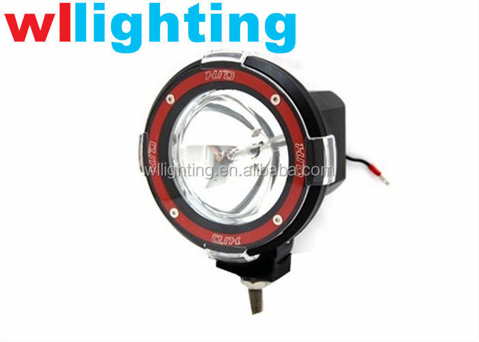 red ring,spotbeam,hid driving light,hid off road light 35/55w/75w/100w 12v/24v