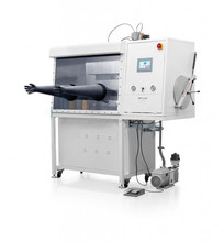 Stainless Steel Vacuum Glove Box with Vacuum Flange & Airlock Chamber
