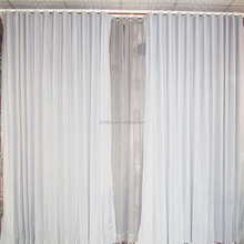 Fancy Door Curtain Cortinas Blackout Ripple Fold Curtain Design For Hall
