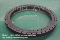 black coating Swing Gear Ring PSL brand replacement turntable bearing for tower crane in China