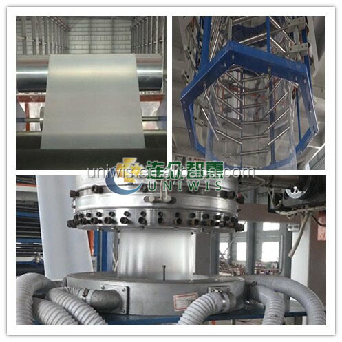 HIGH OUTPUT POF shrink FILM BLOWING MACHINE