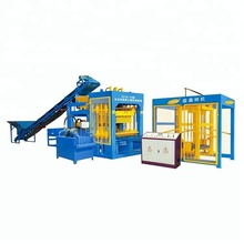 New products 2018 concrete block cement QT10-15 small brick making machine