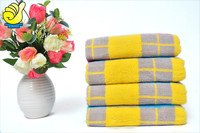 100% cotton high quality Bright colored bath towel beach towel