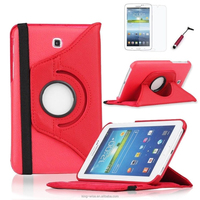 360 Rotating For Samsung Galaxy Tab 3 7.0 P3200 P3210 T210 Folio Stand Leather Case