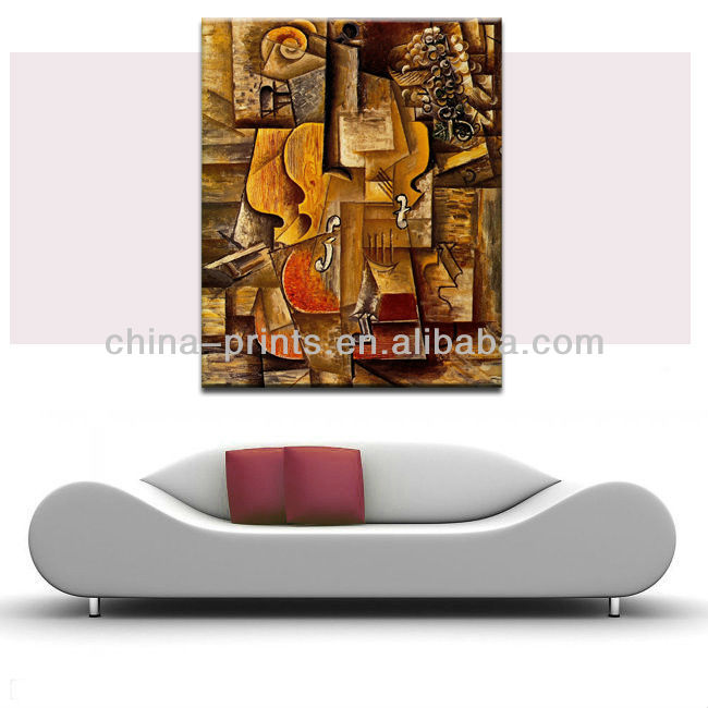 Popular Modern Canvas Abstract Art Acrylic Painting For Sale