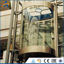 German brand SL horse-hoof panoramic elevator lift in china