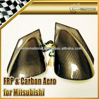 For Mitsubishi Lancer Evolution EVO 7 8 9 Carbon Fiber Ralliart Electric Side Mirror