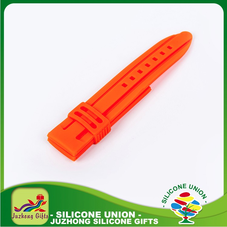 Silicone luxury fast delivery new product promotion watch strap
