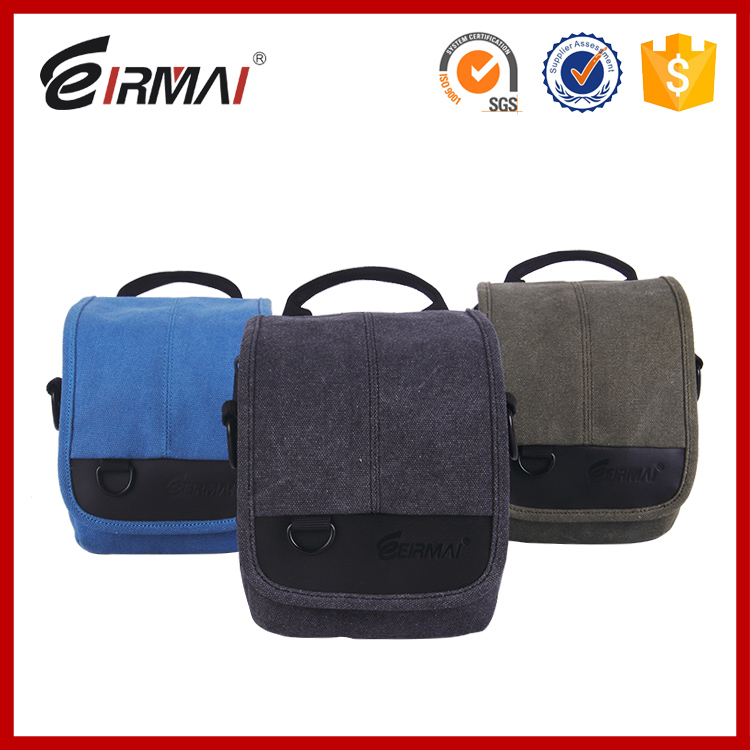 High Quality Classic Style Canvas Camera Bags customized slr camera bag