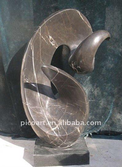 modernes sculpture sur pierre sculpture sur pierre d cor. Black Bedroom Furniture Sets. Home Design Ideas