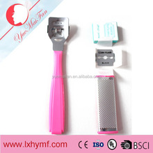 Wholesale Plastic Foot File With Long Handle