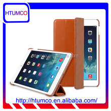 Classic Brown Slim Cover Premium Leather Case for Apple iPad mini 4