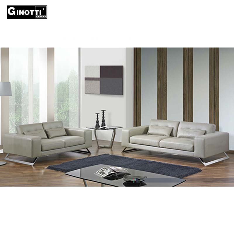 3 2 Contemporary Full Grain Leather Sofas Buy Leather