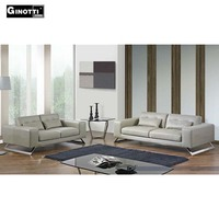 3 2 contemporary full grain leather sofas