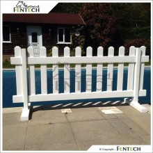 Fentech Widely Used Portable Picket Fence,Temporary Fence