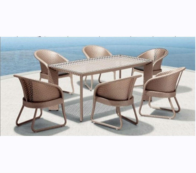 PE Rattan garden furniture used nightclub furniture for sale(MD-7089)