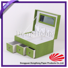 New design custom made jewelry set box model for jewelry packaging