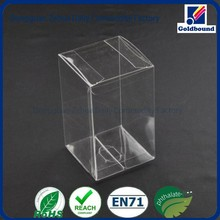 New design fashion low price custom clear pvc box for gift packaging