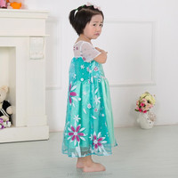 2015 wholesale frozen elsa dress frozen elsa costume,elsa dress cosplay costume in frozen